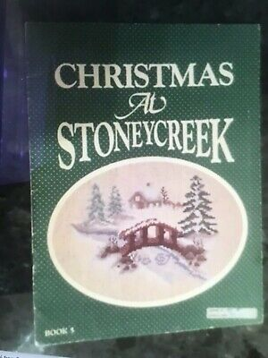 Stoney Creek Collection Cross Stitch Pattern Booklet called 'Christmas at Stoney