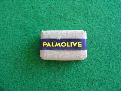 Vintage 60's Palmolive unused soap block/retro/packaging/grocery