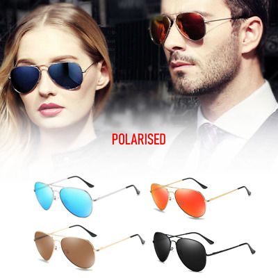 Aviator Sunglasses Polarised - UV 400 Protection  60MM Classic Style NEW