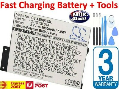 Fast Charge Battery For Amazon Kindle 3 III 3G WIFI D00901 Keyboard 170-1032-01