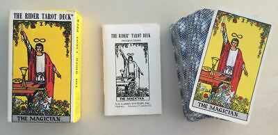 Smith Waite Rider Tarot Cards Deck Complete 78 Cards 1 Blank Instructions