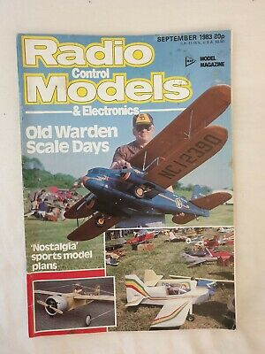Radio Control Models & Electronics Magazine. Vol. 24 No. 9, September, 1983.
