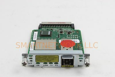 USED Cisco HWIC-1GE-SFP Router High-Speed WAN Interface card