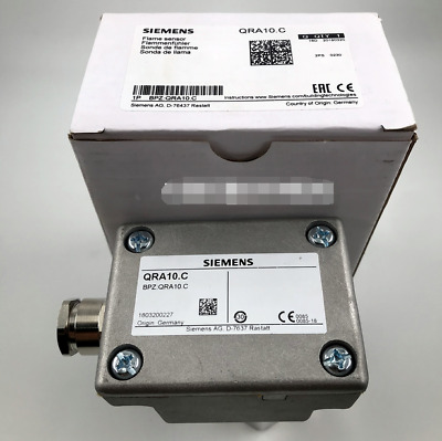 1PCS New Siemens QRA10.C Flame Detector In Box Free Ship *S01