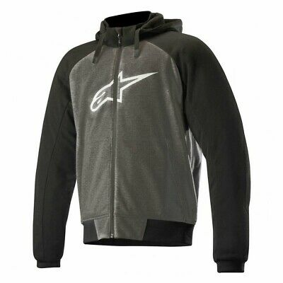 Alpinestars Chrome Motorcycle Hoody Black/Anthracite