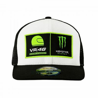 Valentino Rossi Trucker Cap VR46 MotoGP Monster Energy Dual Logo Official 2019