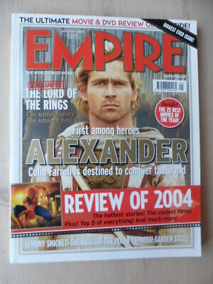 Empire magazine - Jan 2005 - # 187 - Alexander