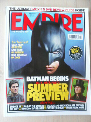 Empire magazine - May 2005 - # 191 - Batman begins