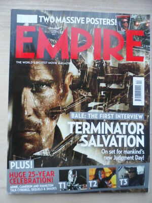 Empire magazine - April 2009  - # 238 - Terminator Salvation
