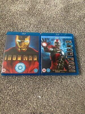 MCU Marvel Iron Man & Iron Man 2 (2-Disc Special Edition) Blu Ray