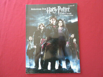 Harry Potter and the Goblet of Fire . Songbook Notenbuch Piano Vocal Guitar PVG