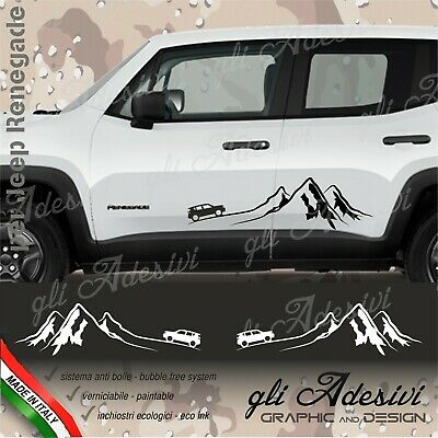 Adhesives Jeep Renegade Mountain for the Hip Lateral Door