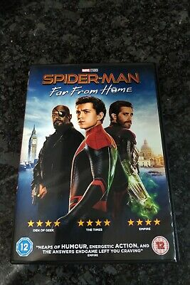 Spider-Man - Far from Home [DVD] Brand New
