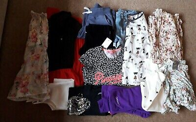 Girls Age 9-10 years Clothes Bundle - Next, Pineapple, Blue Zoo (Some new)