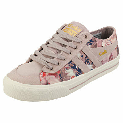 41 EU Gola Bullet Liberty Womens Navy White Textile Fashion Trainers