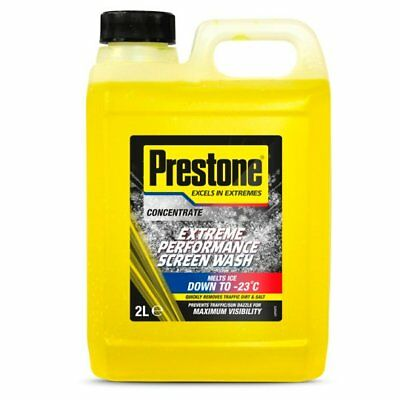 Prestone Screen Wash Extreme Performance Concentrated All Seasons 2 Litre