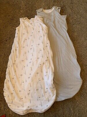 X2 Baby Mothercare Winter Sleeping Bag 2.5 Tog 18-36 Months Neutral Unisex