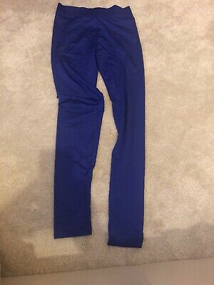 Girls Running Trousers Blue Size 12/13 Years