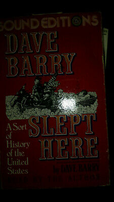 Dave Barry Slept Here Audiobook
