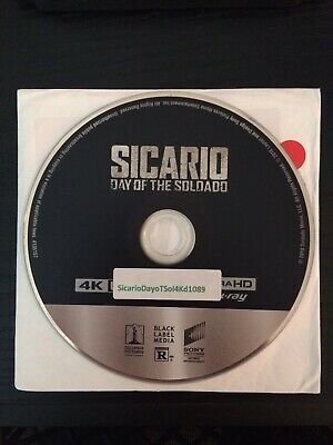 Sicario: Day of the Soldado 4K Ultra HD Disc Only