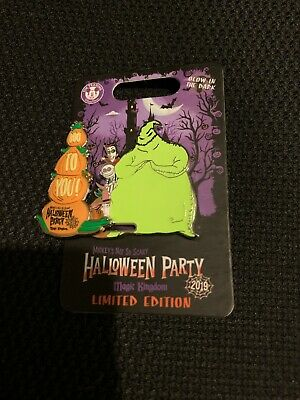 Disney Oogie Boogie 2019 MNSSHP Mickey's Not So Scary Halloween Party LE Pin