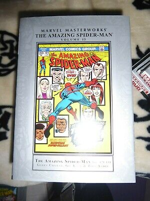 VG+. Marvel Masterworks. THE AMAZING SPIDER-MAN Vol 13. HB. 1st Print.