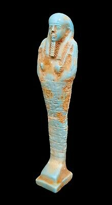 Shabti Egyptian Ushabti Bc Ancient Statue Faience Stone Figure Antique Egypt art