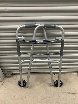 "ProBasics Steel Walker WKSAW2B-Two Button-Open Box-Adult-5"" Wheels-Never Used"