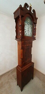 Grandfather Clock - Pre 1900 - Ron T. Hamilton of Hexam - Mahogany Wood