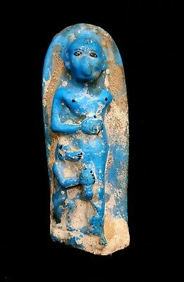 Ushabti Egyptian Ancient Shabti Bc Statue Antique Faience Rare Antiques Egypt