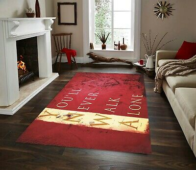 Liverpool FC Carpet, Fan Carpet NonSlip Floor Carpet,Teen's Carpet,80x150cm