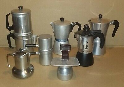 Lotto 7 Caffettiere Presto - Nova Express - Lavazza - Bialetti - Coffee maker