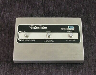Vintage Roland AF-100 Bee Baa Fuzz & Treble Booster Pedal - Top-Zustand