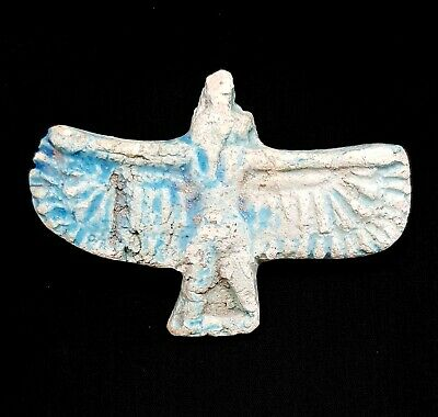 Isis Amulet Ancient Egypt Faience C 300 Horus Egyptian Nursing Ca Bc Nile Bead N