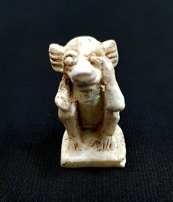 Rare Thoth Egyptian God Statue Figurine Ancient Sculpture Egypt Knowledge Wisdom