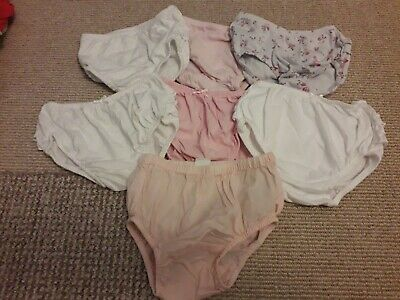 Baby Girls Frilly Knickers 6-9 Months