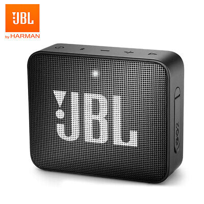 JBL GO2 Wireless Bluetooth Speaker Waterproof Outdoor Portable Bass BLACK