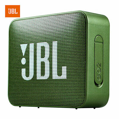 JBL GO2 Wireless Bluetooth Speaker Waterproof Outdoor Portable Bass FOREST GREEN