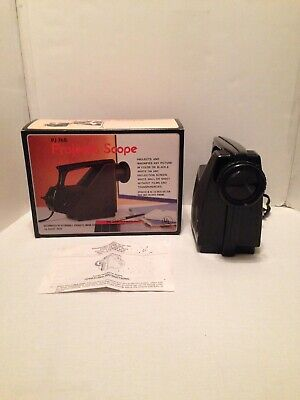 Vintage Projecta Scope Model PJ 768 Image Projector For Tracing