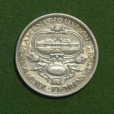 1927 - Australian George V - Florin/To Shillings - PARLIANENT HOUSE