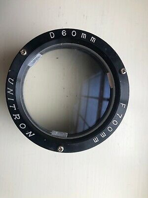 Unitron Objective lens 60mm diameter, 700mm focal length