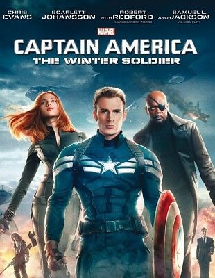 Captain America: The Winter Soldier (2014) | NEW & SEALED DVD (MARVEL)