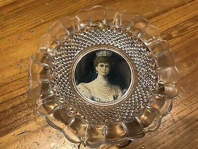 Antique Glass Plate