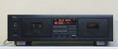 Yamaha Natural Sound Stereo Double Cassette Deck made in Japan