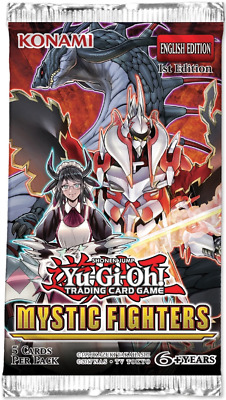 YuGiOh! MYSTIC FIGHTERS *MYFI* - CHOOSE YOUR SECRET RARE AND SUPER RARE CARDS