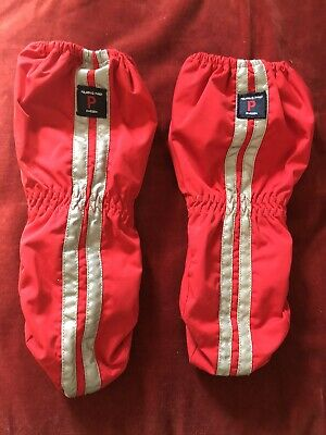 Polarn O Pyret Waterproof Mittens / Winter, Ski, Red Age 4-6