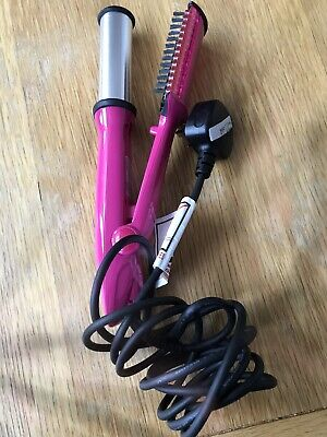 Pink Instyler Hair Styling. Used Once. Straightning & Curling.