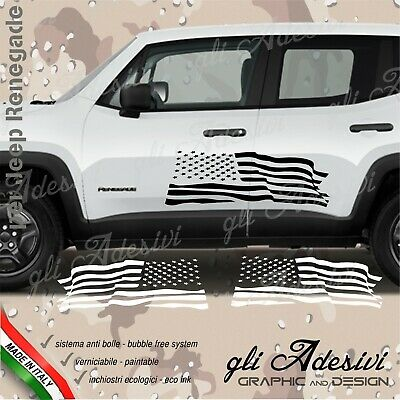 Adhesives Jeep Renegade for Wing Lateral Flag u. S. A.