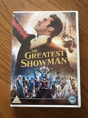 The Greatest Showman (DVD, 2018) Used