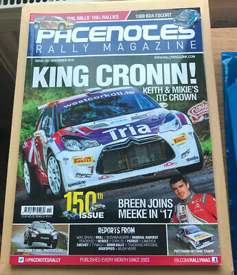 Pacenotes Rally Magazine - Issue 150 / November 2016
